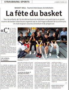 la fete du basket - DNA - 25042015