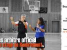 Camp d'été 100% Basket – arbitres